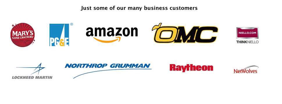 Our business customers