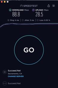 100mbps speedtest